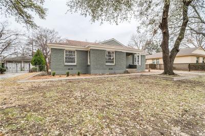 Dallas Single Family Home For Sale: 337 Easton Road