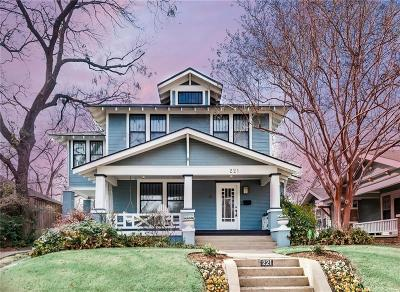 Dallas Single Family Home Active Option Contract: 221 N Windomere Avenue