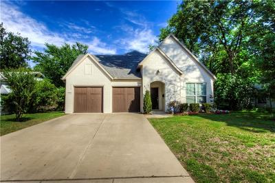 Fort Worth Single Family Home For Sale: 836 Northwood Road