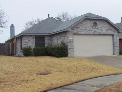 Garland Single Family Home Active Option Contract: 1407 Deville Circle
