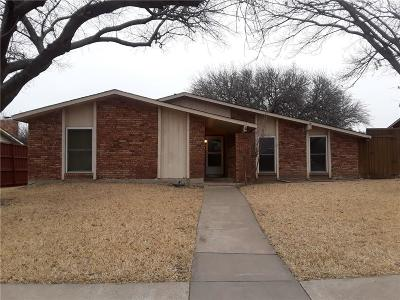 Plano Single Family Home Active Option Contract: 1607 W Spring Creek Parkway
