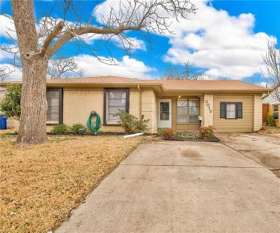 Garland Single Family Home Active Option Contract: 3013 Rilla Drive