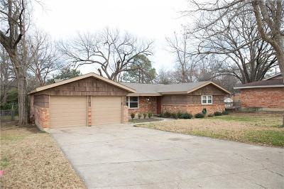 Hurst Single Family Home Active Option Contract: 1112 Norwood Drive