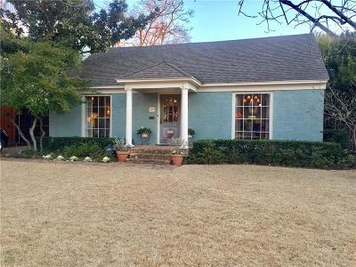 University Park Single Family Home For Sale: 4329 Southwestern