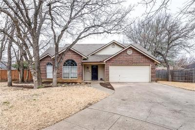 North Richland Hills Single Family Home Active Option Contract: 7709 Driftwood Court