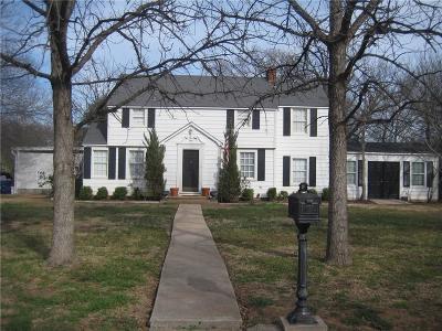Graham Single Family Home For Sale: 1101 Plum Street
