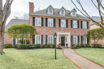 Plano Single Family Home Active Option Contract: 1629 Glen Springs Drive