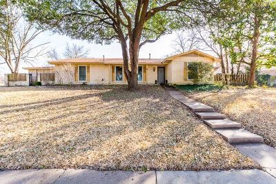 Plano Single Family Home Active Option Contract: 2808 Oak Grove Drive