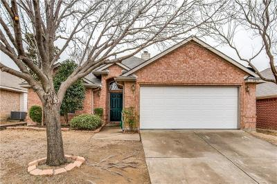 McKinney Single Family Home Active Option Contract: 9213 Norfolk Lane