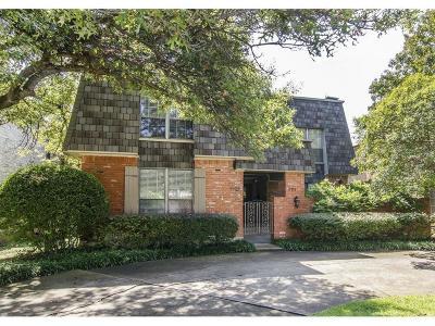 University Park Multi Family Home For Sale: 4311 Glenwick Lane