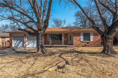 White Settlement Single Family Home Active Option Contract: 413 Crandle Drive