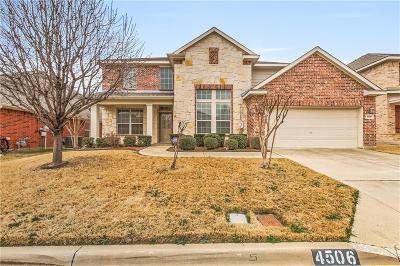 Single Family Home For Sale: 4506 Foxmeadow Trail