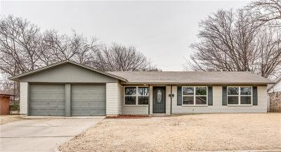 Haltom City Single Family Home Active Option Contract: 5605 Ammons Street