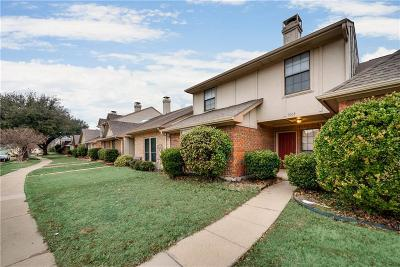 Plano Townhouse Active Option Contract: 3604 Hilltop Lane