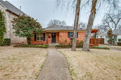 Dallas Single Family Home For Sale: 4078 Lively Lane