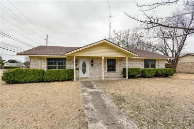 Garland Single Family Home For Sale: 1118 Walnut Parkway