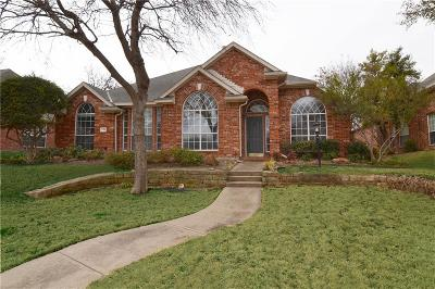 Allen Single Family Home For Sale: 708 Bel Air Drive