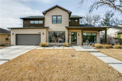 Dallas Single Family Home For Sale: 6745 Inverness Lane