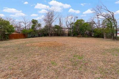 North Richland Hills Residential Lots & Land For Sale: 4821 Ash Street