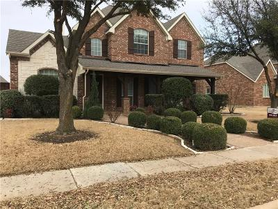Wylie Single Family Home For Sale: 1607 Mapleleaf Drive
