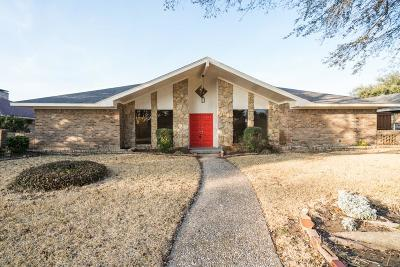Richardson Single Family Home Active Option Contract: 607 Wentworth Drive
