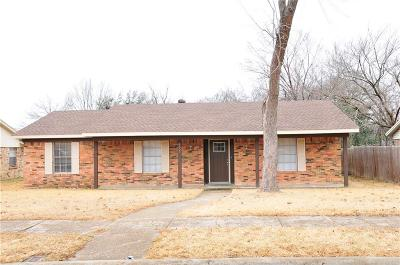 Mesquite Single Family Home For Sale: 4807 Stallcup Drive