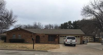 Mineral Wells Single Family Home For Sale: 1806 SE 9th Street