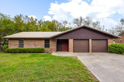 Stephenville TX Single Family Home For Sale: $160,000