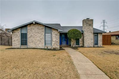 Plano Single Family Home Active Option Contract: 805 Cross Bend Road