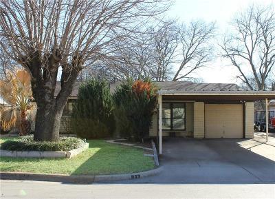 Everman Single Family Home Active Option Contract: 817 W Barron Avenue
