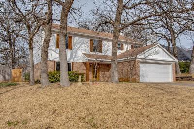 Euless Single Family Home For Sale: 501 Wild Oak Lane