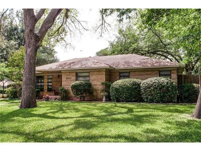 Dallas, Fort Worth Single Family Home For Sale: 9935 Galway Drive