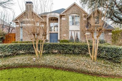 Dallas Single Family Home For Sale: 5112 Spyglass Drive