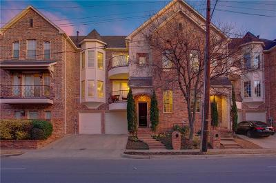 Dallas Townhouse For Sale: 3722 Wycliff Avenue