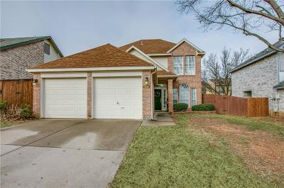 Grapevine Single Family Home For Sale: 1530 Dublin Circle