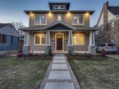 Dallas Single Family Home For Sale: 6021 Llano Avenue