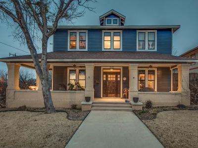 Fort Worth Single Family Home For Sale: 1401 Lipscomb Street
