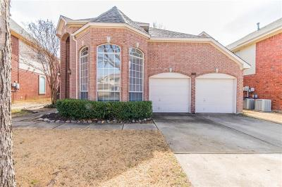 Carrollton Single Family Home Active Option Contract: 1319 Pawnee Trail
