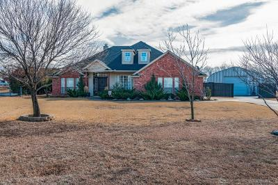Rhome TX Single Family Home Active Option Contract: $265,000