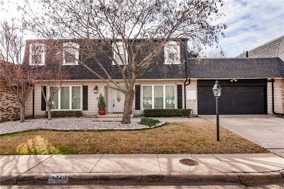 Dallas, Fort Worth Townhouse For Sale: 4320 Forest Bend Road