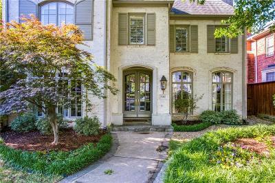 Dallas, Highland Park, University Park Single Family Home For Sale: 3101 Hanover Street