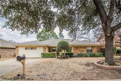 Arlington TX Single Family Home For Sale: $218,000