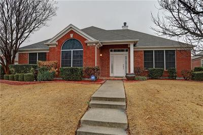 Frisco Single Family Home For Sale: 6908 Napa Valley Drive