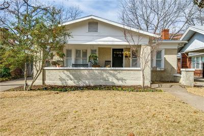 Fort Worth Single Family Home For Sale: 1908 Ashland Avenue