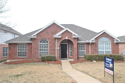 Frisco Single Family Home Active Option Contract: 8220 Edgewater Drive