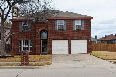 Saginaw Single Family Home For Sale: 1131 Trinity Trail