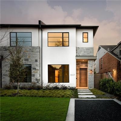 Highland Park, University Park Single Family Home For Sale: 3607 Binkley Avenue