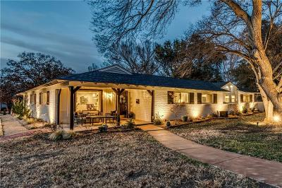 Fort Worth Single Family Home For Sale: 1828 Ems Road E