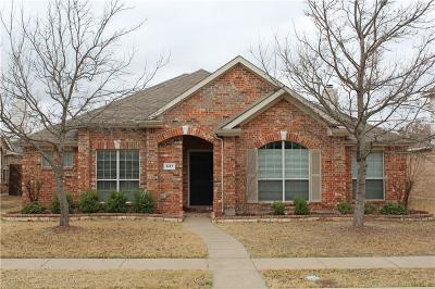 Allen Single Family Home Active Option Contract: 1413 Hazelwood Drive