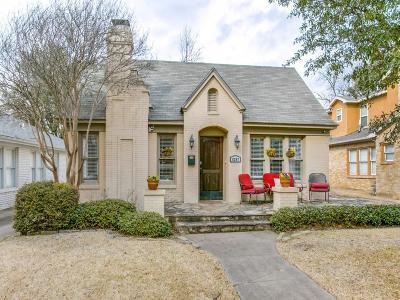 Single Family Home For Sale: 5247 Goodwin Avenue